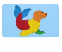 Tranh ghép con hải cẩu